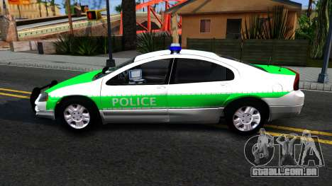 Dodge Intrepid German Police 2003 para GTA San Andreas esquerda vista