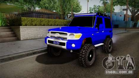 Toyota Macho 2015 Off Road para GTA San Andreas