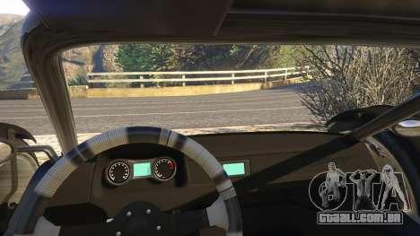 GTA 5 Raptor Car v2 vista lateral direita