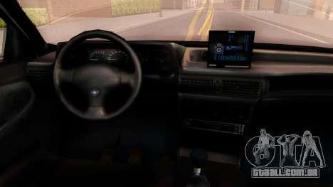 Daewoo Cielo 2001 para GTA San Andreas vista interior