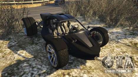 GTA 5 Raptor Car v2 voltar vista