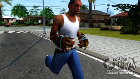 Blue Bear Claws Team Fortress 2 para GTA San Andreas segunda tela