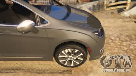 GTA 5 Chrysler Pacifica Limited 2017 vista lateral direita