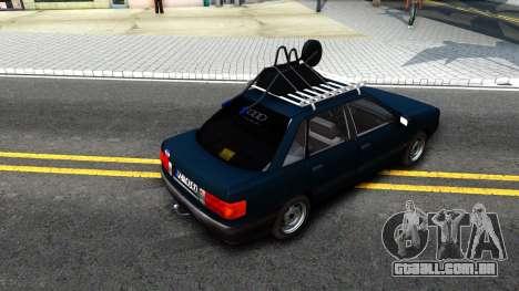 Audi 80 B3 para GTA San Andreas vista direita