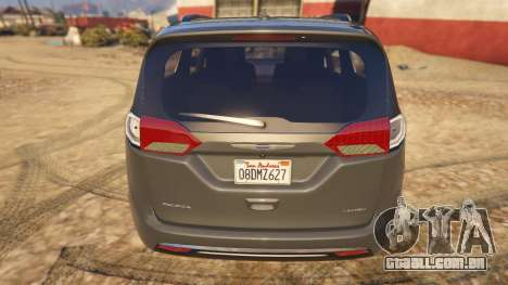GTA 5 Chrysler Pacifica Limited 2017 voltar vista