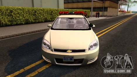 2007 Chevy Impala Bayside Police para GTA San Andreas esquerda vista