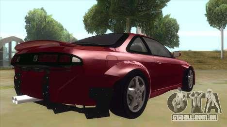 Nissan Silvia S14 Tuned para GTA San Andreas vista direita