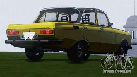 Moskvich 2140 GVR para GTA San Andreas