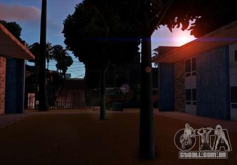 MMGE 3.0 para GTA San Andreas por diante tela