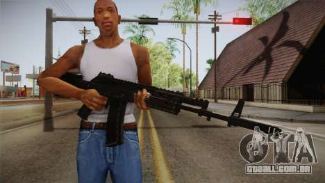 Call of Duty Ghosts - AK-12 para GTA San Andreas terceira tela