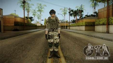 Resident Evil ORC Spec Ops v6 para GTA San Andreas segunda tela