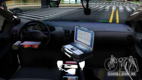 Dodge Intrepid German Police 2003 para GTA San Andreas vista interior