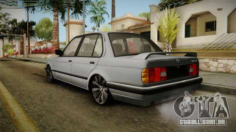 BMW M3 E30 Edit v1.0 para GTA San Andreas esquerda vista