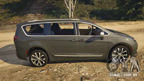 GTA 5 Chrysler Pacifica Limited 2017 vista lateral esquerda