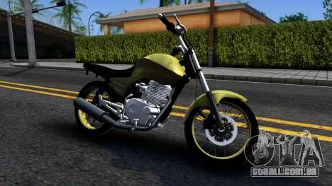 Honda Titan 150 Stunt para GTA San Andreas