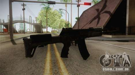 Call of Duty Ghosts - AK-12 para GTA San Andreas segunda tela
