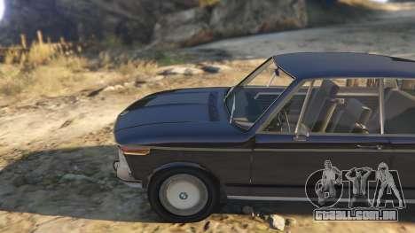 GTA 5 BMW 2002 72 vista lateral direita