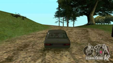Forza Horizon 3 Speedometer para GTA San Andreas terceira tela