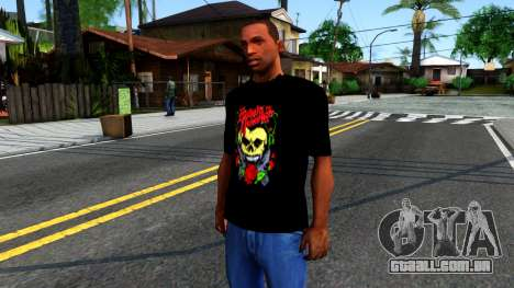 Bullet For My Valentine T-shirt para GTA San Andreas