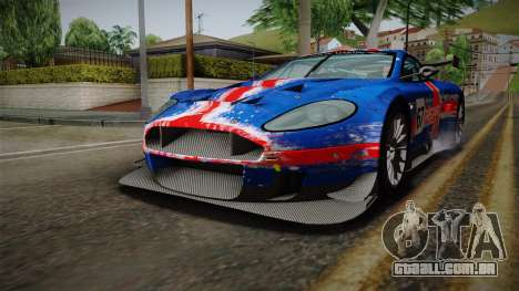 Aston Martin Racing DBRS9 GT3 2006 v1.0.6 para as rodas de GTA San Andreas