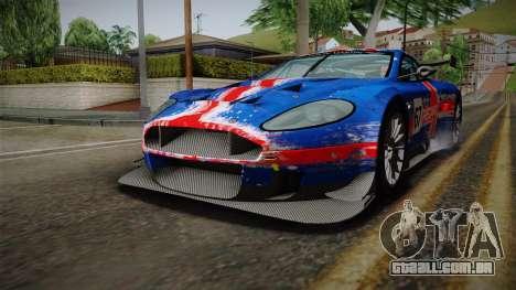 Aston Martin Racing DBRS9 GT3 2006 v1.0.6 para as rodas de GTA San Andreas