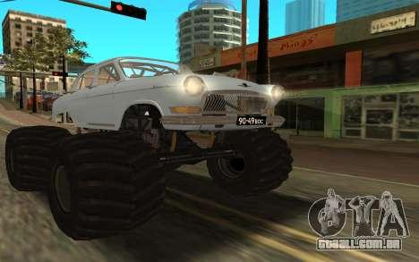 Volga GAZ21 para GTA San Andreas