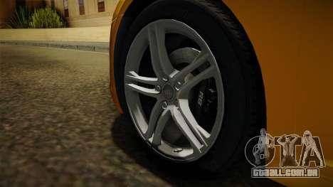 Audi R8 Coupe 4.2 FSI quattro EU-Spec 2008 Dirt para GTA San Andreas vista traseira