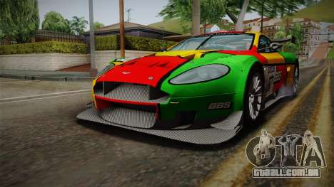 Aston Martin Racing DBR9 2005 v2.0.1 para GTA San Andreas