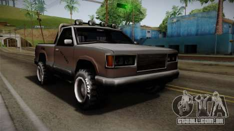 Yosemite Off-Road para GTA San Andreas