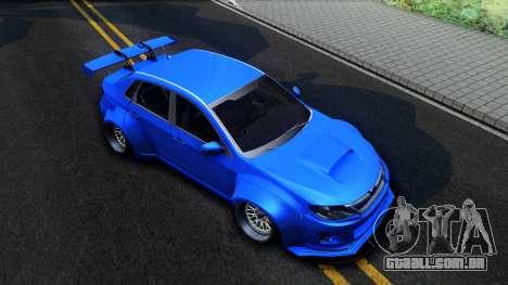 Subaru WRX STi Widebody para GTA San Andreas vista direita