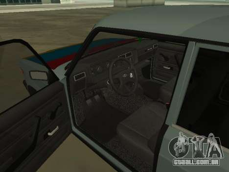 2107 para vista lateral GTA San Andreas
