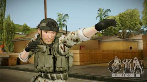 Resident Evil ORC Spec Ops v5 para GTA San Andreas