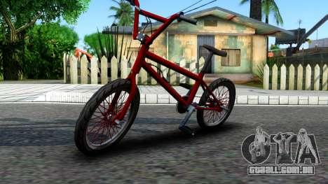 BMX Enhance para GTA San Andreas