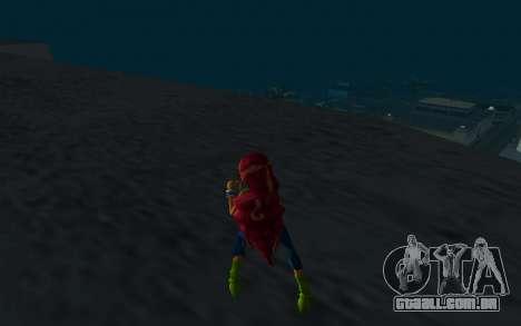 Aisha Rock Outfit from Winx Club Rockstars para GTA San Andreas terceira tela