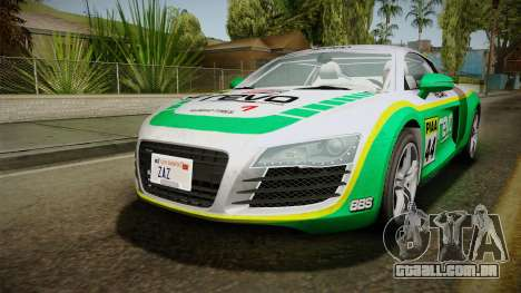 Audi R8 Coupe 4.2 FSI quattro EU-Spec 2008 Dirt para o motor de GTA San Andreas