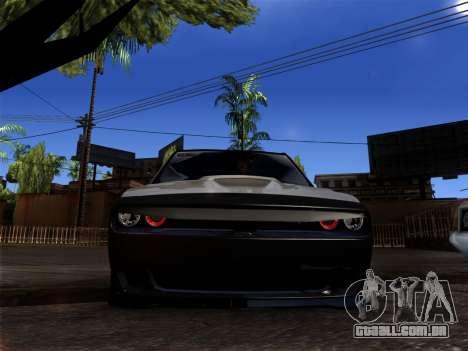 OKA - Dodge 2016 para GTA San Andreas esquerda vista