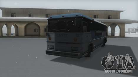Bus Winter IVF para GTA San Andreas vista direita