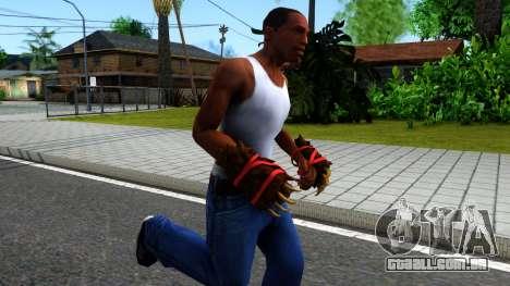 Red Bear Claws Team Fortress 2 para GTA San Andreas