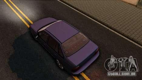 Daewoo Cielo 2001 para GTA San Andreas vista traseira