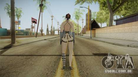 Resident Evil - Claire Nightgown para GTA San Andreas