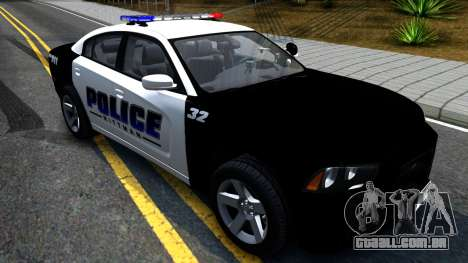 Dodge Charger Rittman Ohio Police 2013 para GTA San Andreas vista direita