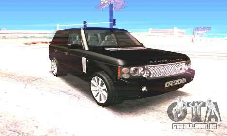 Land Rover 2010 para GTA San Andreas