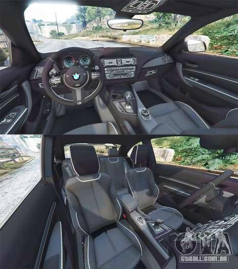 GTA 5 BMW M235i (F87) 69Works [add-on] frente vista lateral direita