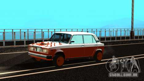 VAZ 2105 patch 3.0 para GTA San Andreas