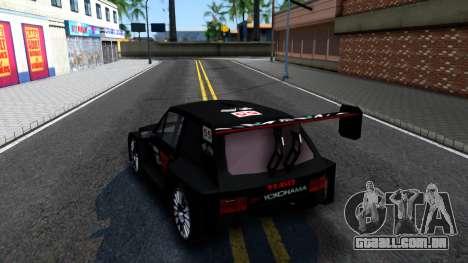 YUGO Koral Pikes Peak V2 para GTA San Andreas