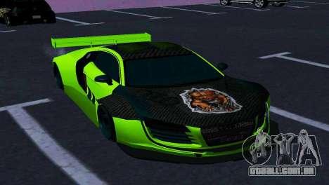AUDI R8 LMS SPORTS para GTA San Andreas