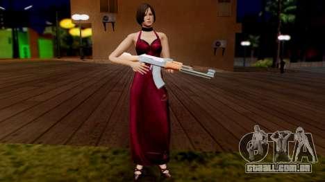 Resident Evil 6 - Ada Dress para GTA San Andreas terceira tela