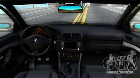 BMW 530D E39 para GTA San Andreas vista interior