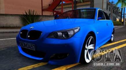 BMW E60 520D M Technique para GTA San Andreas
