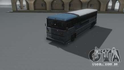 Bus Winter IVF para GTA San Andreas